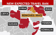 Trump to remove Iraq from travel ban list