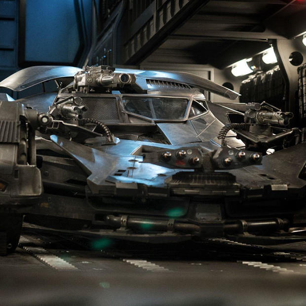 batmobile Holy Firepower Batman The Batmobile Gets Upgraded