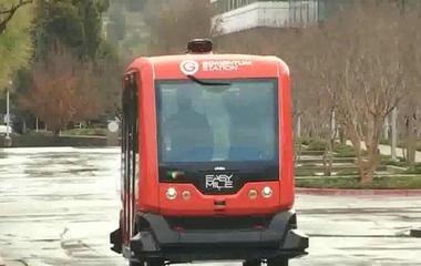 Self-driving buses tested in San Francisco