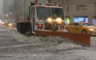 Late-season blizzard dumps up to 2 feet of snow on parts of the Northeast
