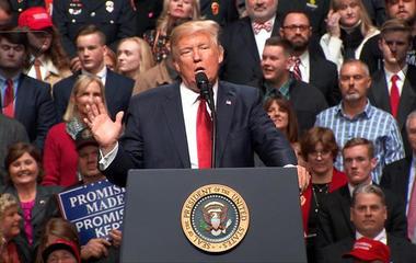 "Trump: Ruling is an ""unprecedented judicial overreach"""