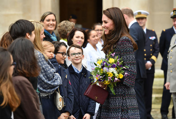 Duke and Duchess of Cambridge visit Paris