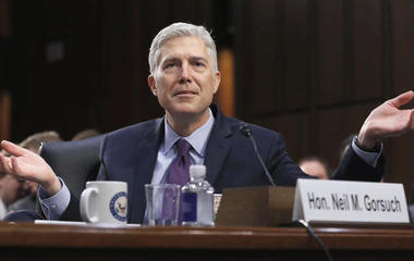 Gorsuch faces follow-up questions in SCOTUS confirmation hearing