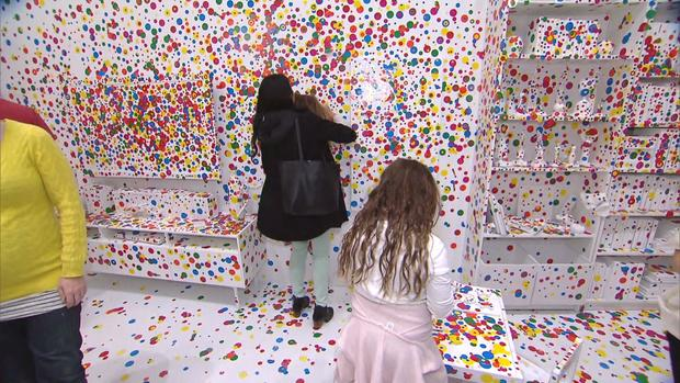 D Exhibition Toronto : Yayoi kusama s quot infinity mirrors hirshhorn museum in