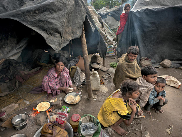 Faces of the world's extreme poor