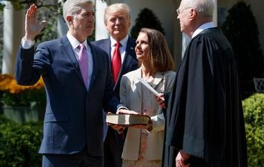 New Justice Gorsuch should expect some hazing