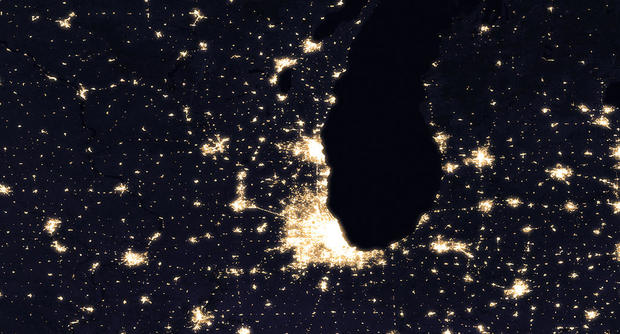 NASA releases new images of Earth at night