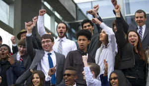 """""""Bring it on"""": Students sue Trump administration over climate change"""