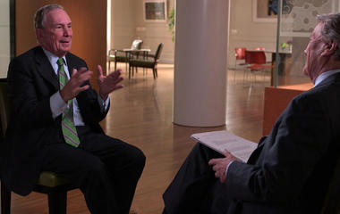 Two things Bloomberg says he's no good at, right now