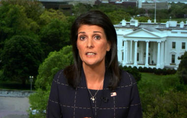 U.N. Ambassador Nikki Haley on American detained in North Korea