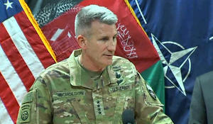 General suggests Russia supplying Taliban with weapons