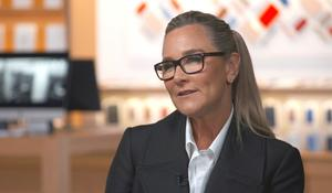 Angela Ahrendts talks Apple store makeover, why Tim Cook hired her