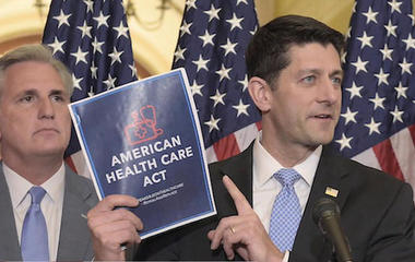 House vote on GOP health care bill stalled ahead of budget vote