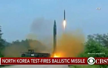 North Korea test-fires ballistic missile, increasing tensions