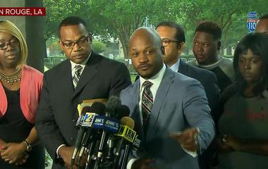 Family of black male gunned down by white patrolman sues Baton Rouge