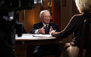 """Nuremberg prosecutor, haunted by Holocaust, is a """"deliberate optimist"""""""