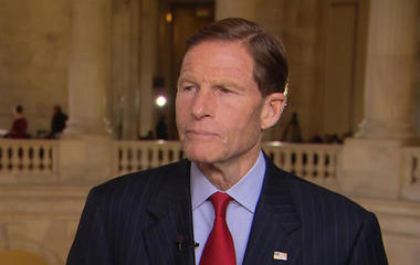 Sen. Richard Blumenthal calls for special prosecutor after Comey firing