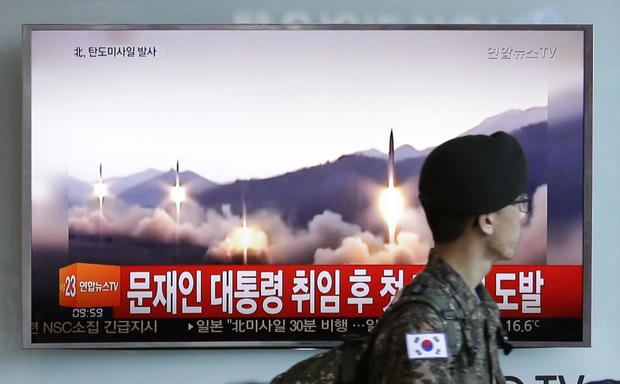 N. Korea says new long-range missile can carry heavy nuke