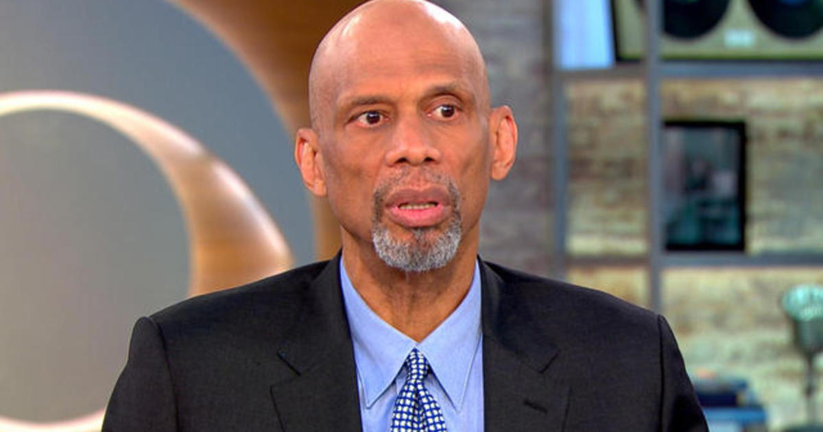 Image result for kareem abdul-jabbar cbs this morning