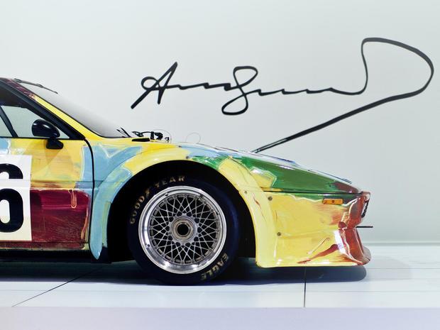 John Bmw Racing Car Painted