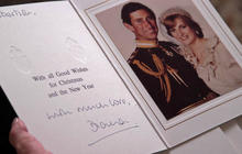 Diana's letters, cards, treasured by former employer