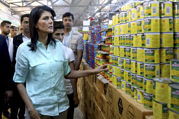 Nikki Haley visits refugee camp in Jordan, plans to increase help efforts