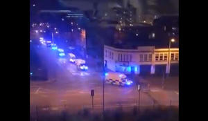 Casualties reported after loud bangs send panic through England arena