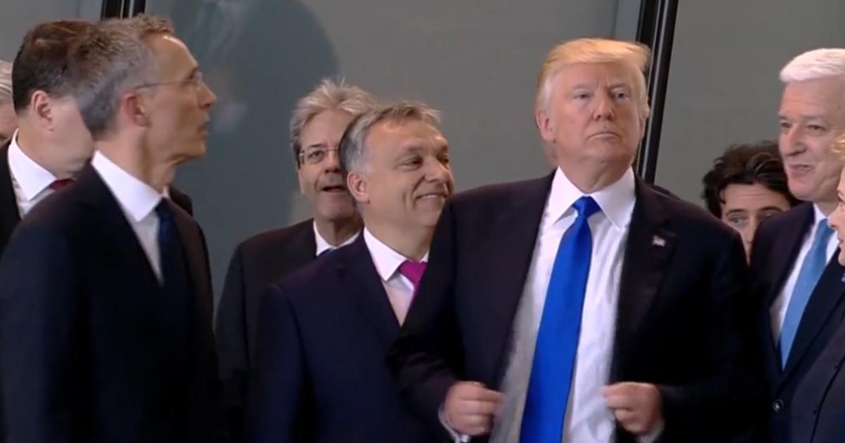 Image result for trump shoves duško marković