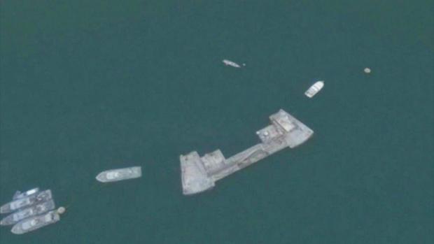 USS科尔加油dophin