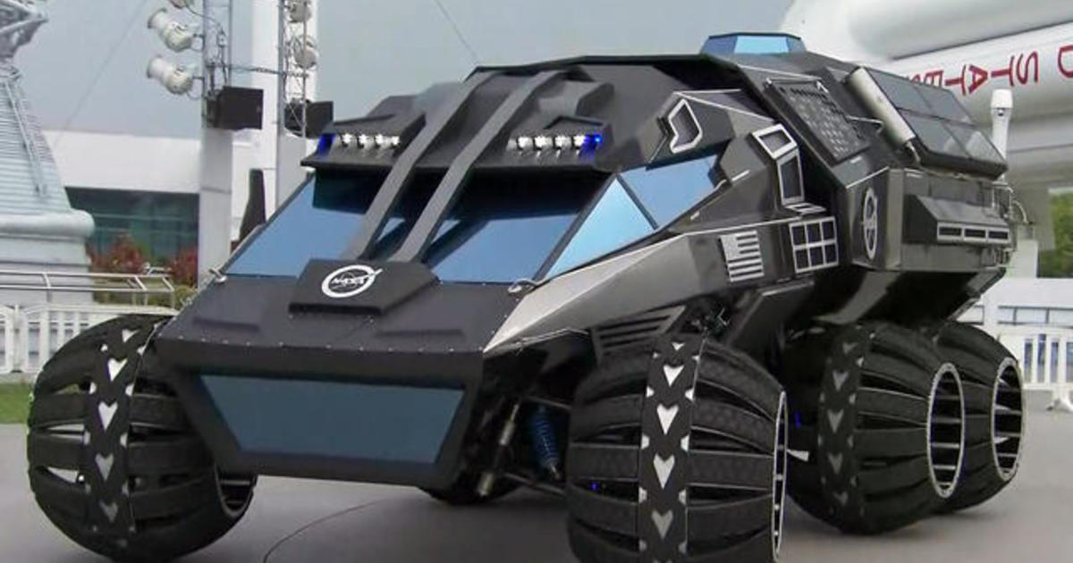 Inside NASA's new Mars rover concept vehicle - Videos ...