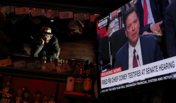 Comey watch parties held across the U.S.