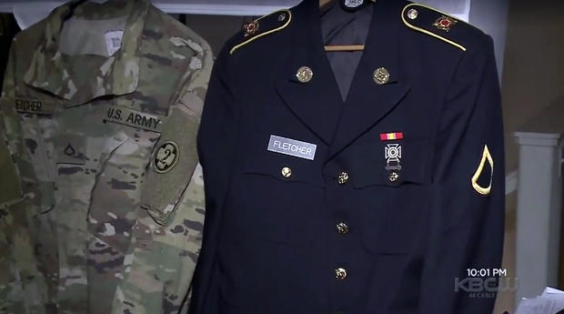 High school insisted student cover US Army uniform at graduation