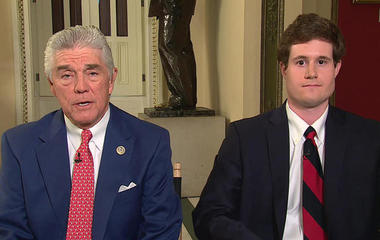 Rep. Roger Williams and Zach Barth on Alexandria shooting