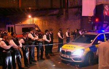 London van attack investigated as terror