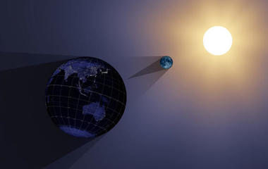 NASA animation of solar eclipse
