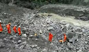 Deadly landslide buries more than 120 people in southwest China