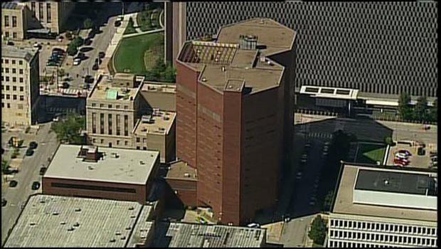2 corrections officers among 4 arrested at Kansas City jail