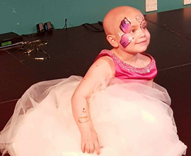 """Wedding"" fulfills 5-year-old girl's failing wish"