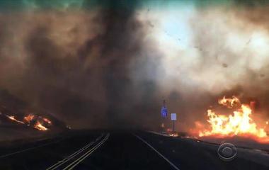 Three dozen wildfires burning across Western United States