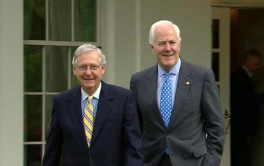 Senate returns from break to work on health care plan