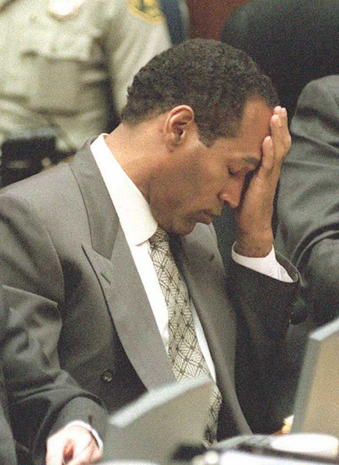 O.J. Simpson then and now