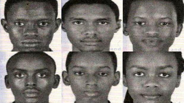 2017年7月20日华盛顿特区警察局发布的图片显示,来自非洲布隆迪国家的青少年机器人团队的成员在参加国际比赛后被报失踪。