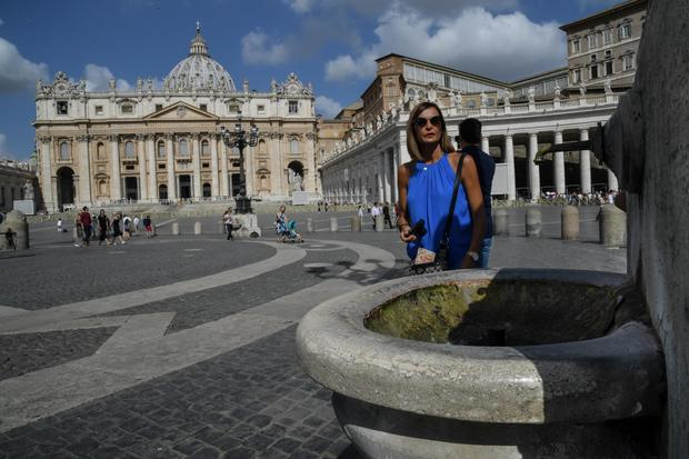 Vatican turns off fountains as Italy reels from drought