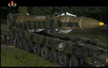 North Korea launches second intercontinental ballistic missile