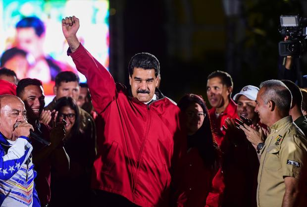 Maduro hit with sanctions