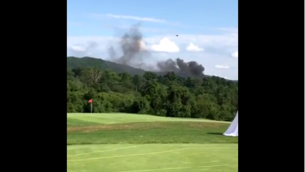 Police helicopter crashes near Charlottesville, Virginia