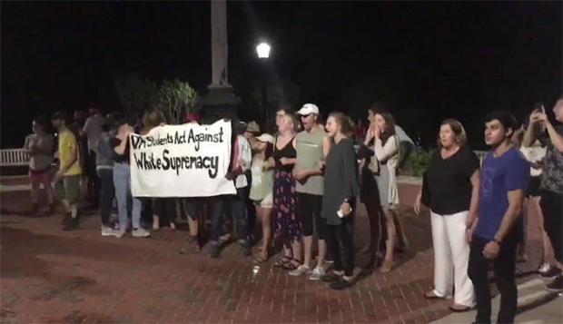 White supremacist rallies in Va. lead to violence
