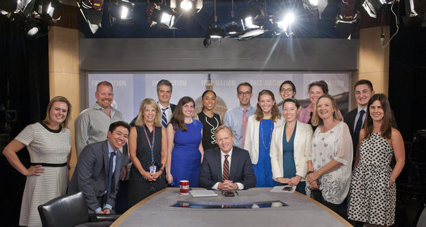 Face the Nation Behind the Scenes: August 13th, 2017