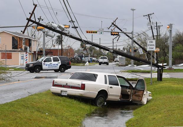 美国天气风暴HARVEY