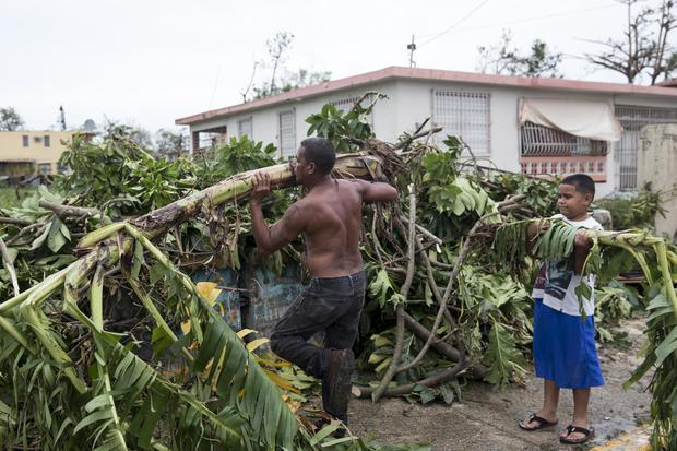 波多黎各在飓风玛丽亚的后果